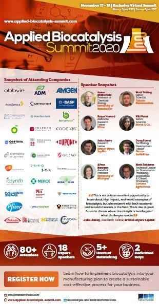 Applied Biocatalysis - Agenda snapshot