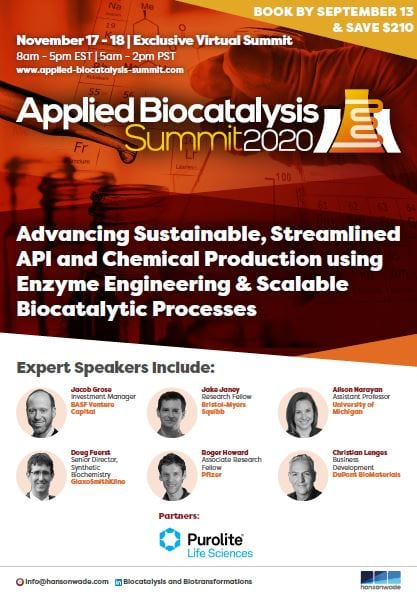 Applied Biocatalysis Summit - Full Event Guide