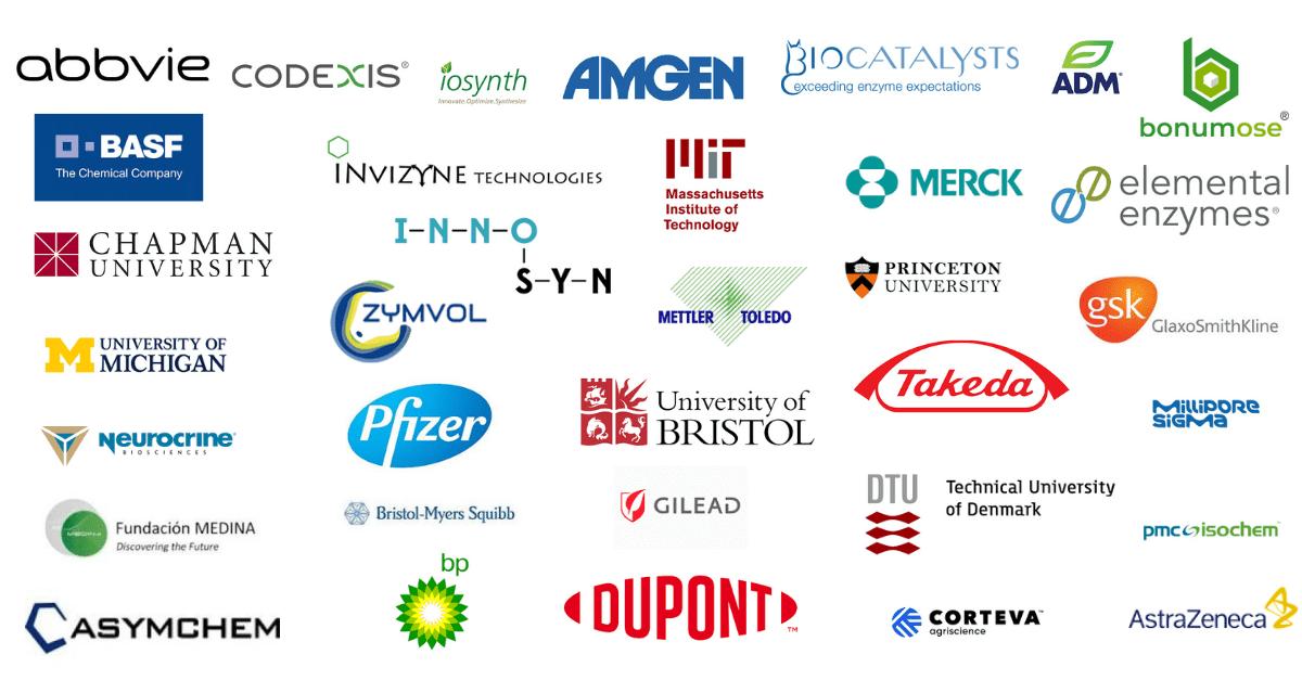 Biocatalysis Companies attending